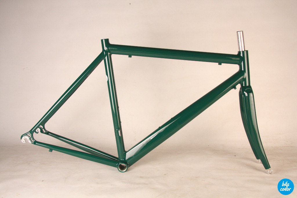 Parkpre_al_road_frame_columbus_Racing_green_bitacolor_1